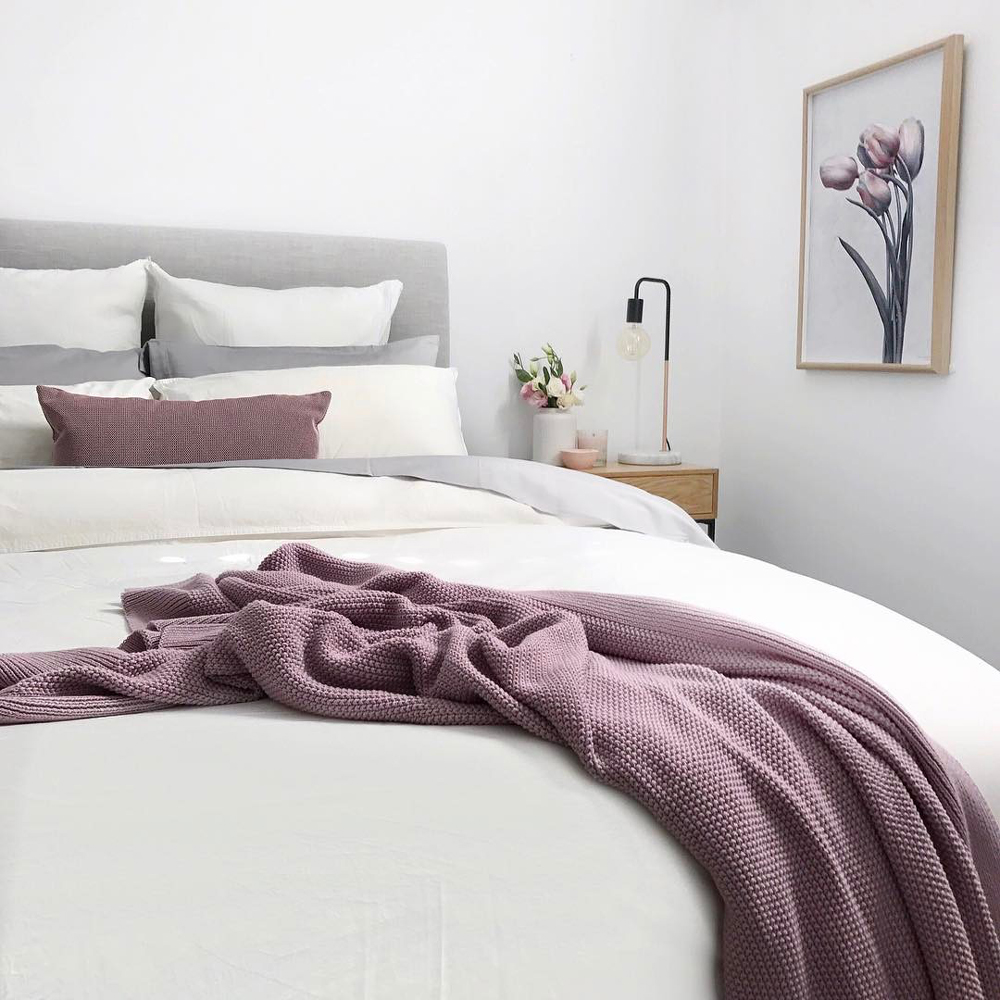 Shop Canningvale Pink Valentini Throw