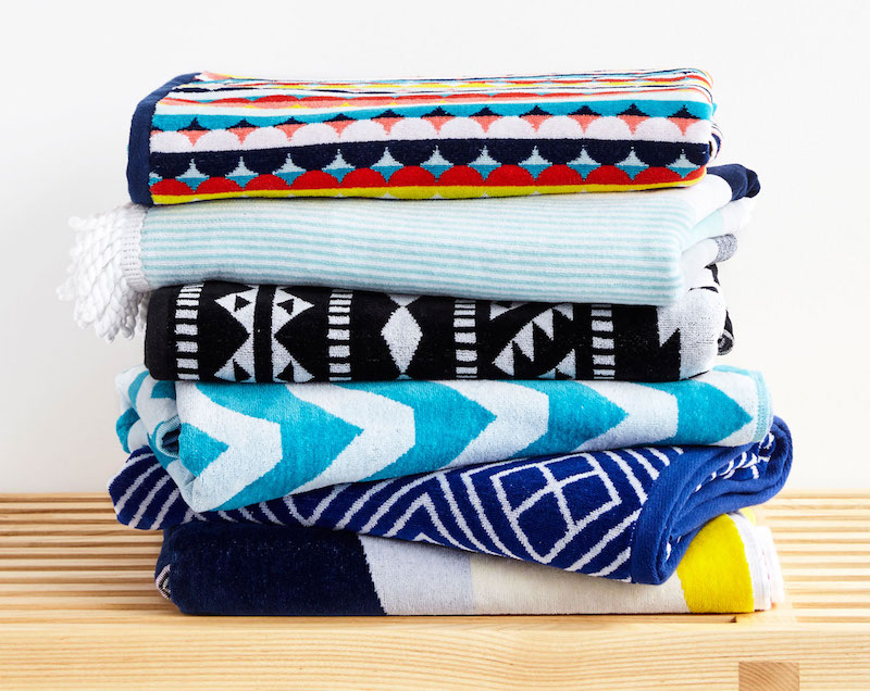 Luxury Cotton Velour Beach Towels